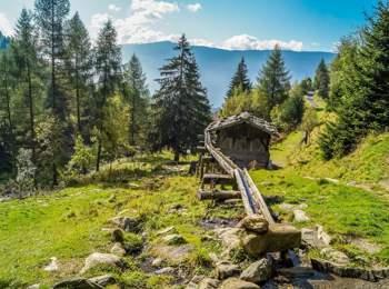 Mühlenweg in Terenten