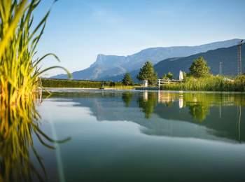 Natural bathing pond Gargazon