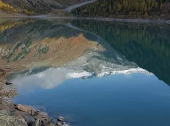 Neves reservoir in Mühlwald