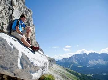 Obereggen hiking area