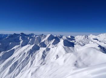 Panorama montano a Serfaus