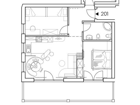 """Comfort Suite """"EMOTION"""" Nr. 201-8"""