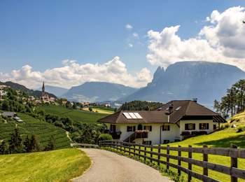 Panoramic view from Ritten