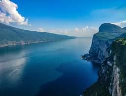 Panoramic view from Tremosine