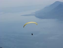 Paragliding at Lake Garda