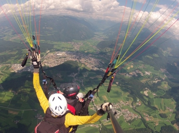 Paragliding with Tandemflights