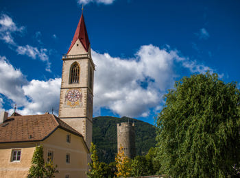 Parish church in Mals