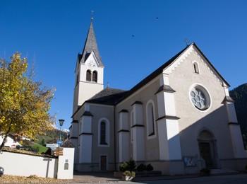 Parish church in Wengen