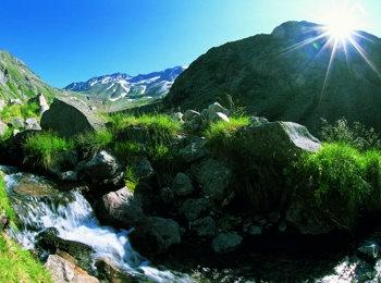 Particolare di Mayrhofen nello Zillertal