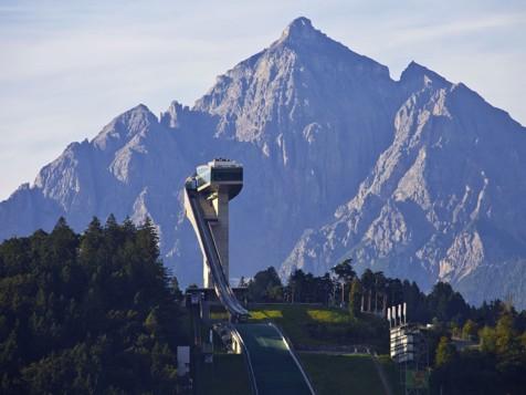 Pista da trampolino a Innsbruck