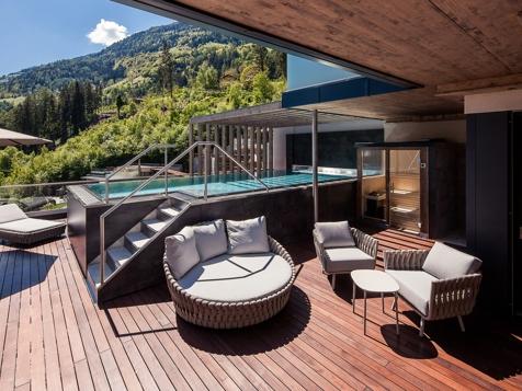 Luxus Chalet mit Pool-4