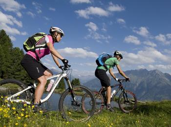 Radfahren in Naturns
