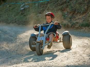 Rasante Fahrt mit dem Mountaincart - Watles