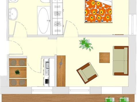 Apartment B2 - 2 Personen - 40m²-4