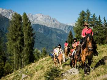 Riding in Tauferer Ahrntal