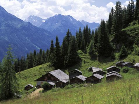 Rifugi di montagna a Kappl