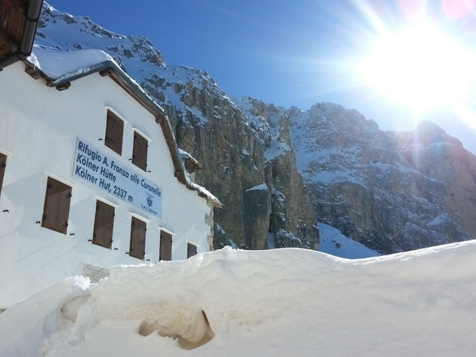 Rifugio Fronza - Kölner Hütte