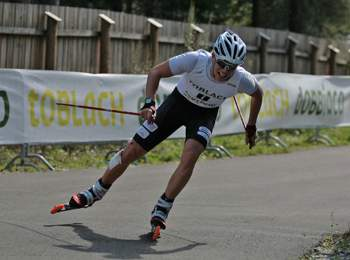 Roller skiing in South Tyrol