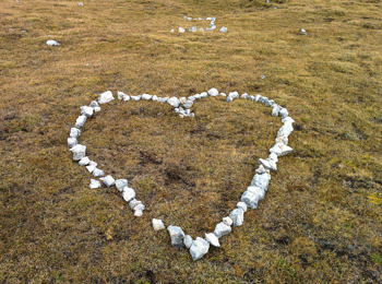 Romantic declaration of love