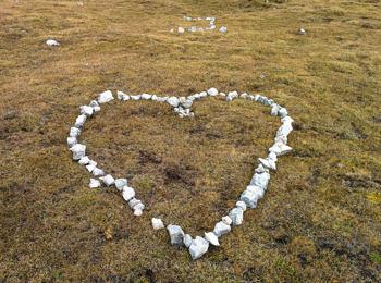 Romantica dichiarazione d'amore