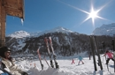 Romanticismo invernale e divertimento sugli sci
