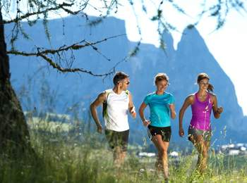 Running Park Seiser Alm