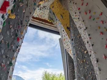Salewa Cube indoor climbing
