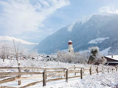 San Martino in Passiria d'inverno