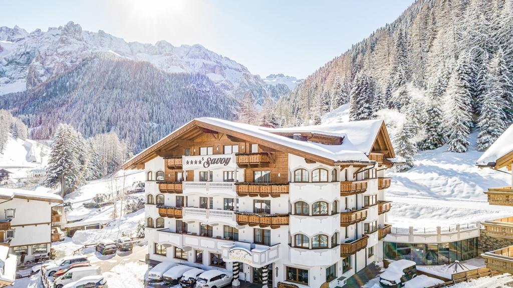 Small Luxury Spa Hotel Savoy Wolkenstein