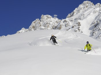 Schindlerkar presso St. Anton am Arlberg