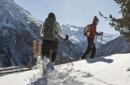 Schneeschuh Wanderwoche Januar