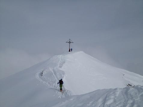 Sci alpinismo sul Picco di Vallandro
