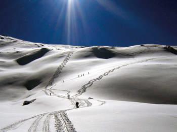 Sci d'Alpinismo a Navis