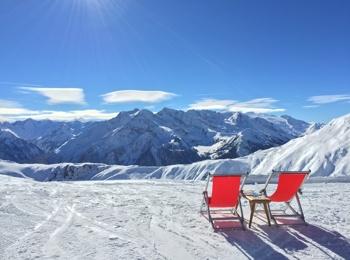 Sciare a primavera a Mayrhofen