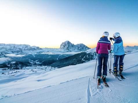 Sciare in Val Gardena - Seceda