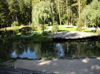 Seebühne im Kurpark Niederdorf