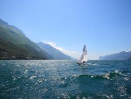 Segeln am Gardasee