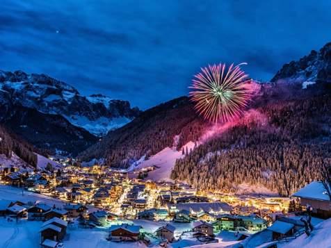 Selva di Val Gardena a Capodanno