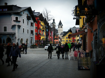 Shopping a Kitzbühel