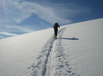 Ski tour in South Tyrol