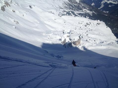 Ski tour in St. Martin in Thurn