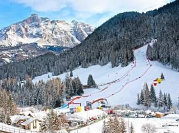 Ski Weltcup in Alta Badia