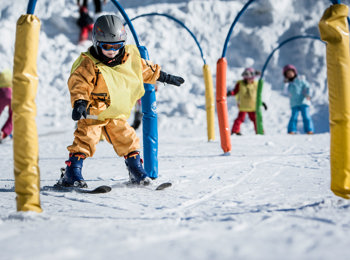 Skifahren am Klausberg