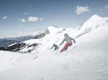 Skifahren in Meran 2000