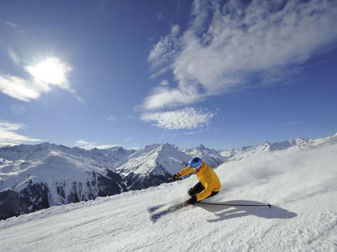 Skifahren in St. Anton