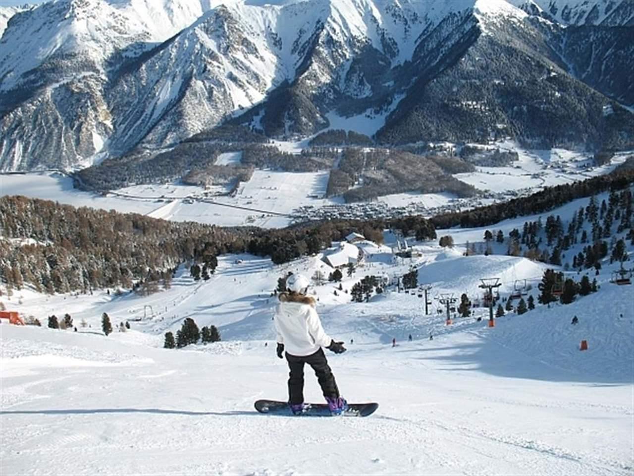 Skigebiet haideralm im vinschgau skifahren im vinschgau for Designhotel skigebiet