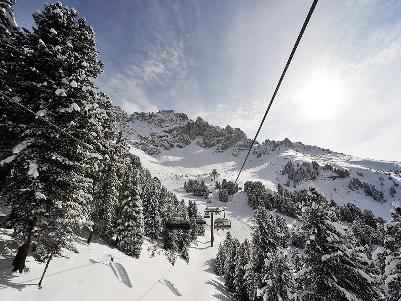 Skigebiet Obereggen Skifahren Im Latemar Gebiet In Den