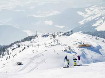 Skiing area Gitschberg Jochtal