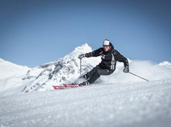 Skiing area Klausberg at Ahrntal/Valle Aurina