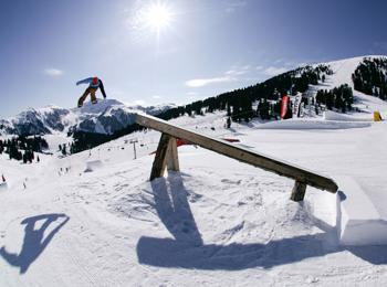 Skiing area Obereggen